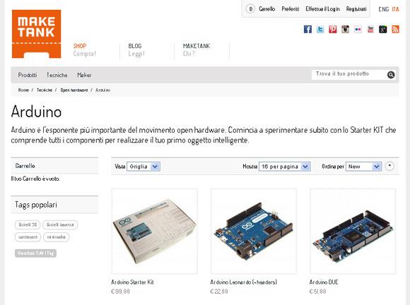 Arduino Store