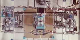 Una vista della stampante di Marble-Eco Design