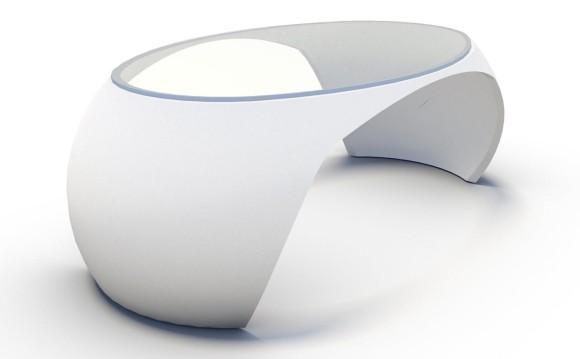 Il tavolo Egg
