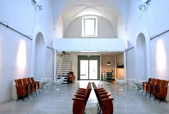 La Ex Chiesa di San Giovanni, sede della mostra/mercato