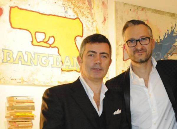 Da sinistra: Stefano Zaccaria e Fabio Pratesi, CEO di Gruppo Fantacci