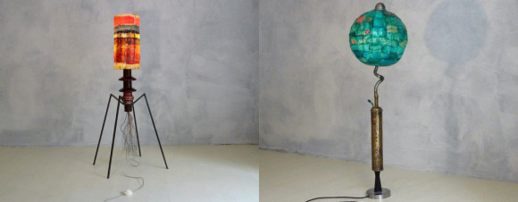 Le lampade Ragno e Smeralda