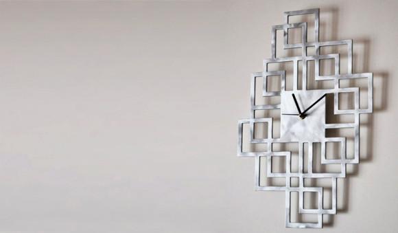 L'orologio da parete Quadrettoni