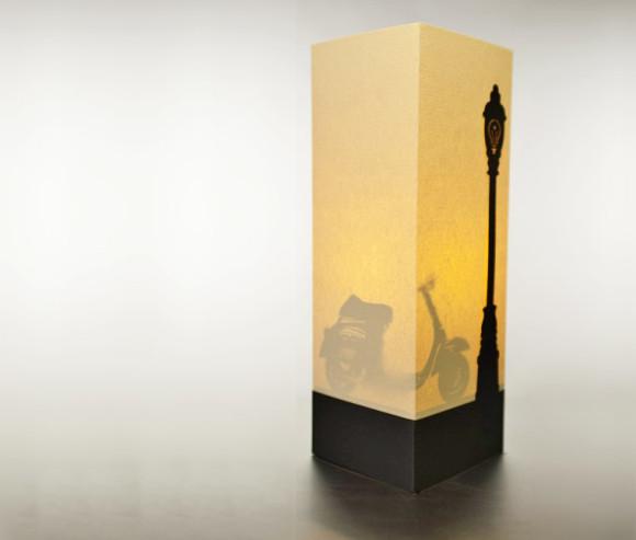 La lampada Vespa