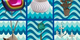 Cromo Rainbow - Armchair, Braccialoft, Franci - Eco Vase, Barchetta - Necklace, Emerald - Lamp, Ancora - Earrings