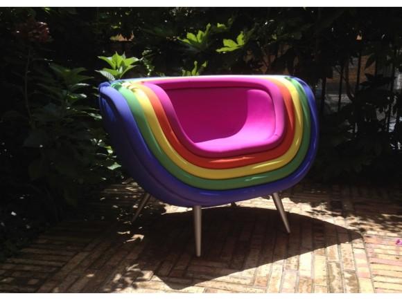 Cromo Rainbow - Armchair