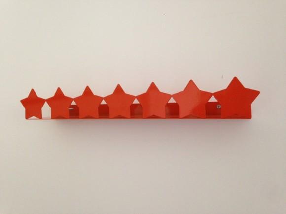 Stars – Bookshelf Orange